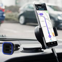 Houd je telefoon veilig in je auto met deze volledig verstelbare DriveTime-autohouder voor je Samsung Galaxy S8 Plus.