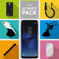 The Ultimate Pack for the Samsung Galaxy S8 consists of fantastic must have accessories designed specifically for the Galaxy S8.