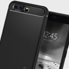 Spigen Rugged Armor Huawei P10 Tough Case - Black