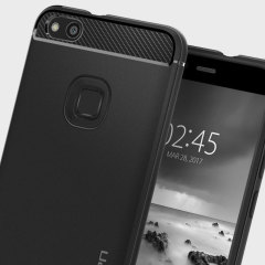 Spigen Rugged Armor Huawei P10 Lite Tough Case Hülle in Schwarz