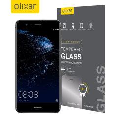 Este protector de pantalla de vidrio templado ultra-delgado para el Huawei P10 Lite ofrece dureza, alta visibilidad y sensibilidad todo en uno.