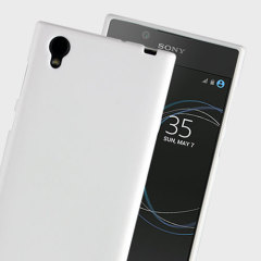 Funda Sony Xperia L1 Simply Soft Shell - Blanca