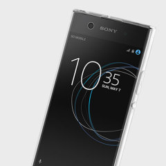 Coque Sony Xperia XA1 Ultra Simply Soft Shell - Blanche