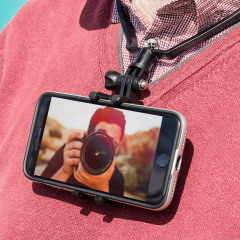 The Olixar Point-of-You is a neck mount for your smartphone, leaving your hands free for other tasks. This makes it perfect for taking footage of your activities and then sharing it. Lightweight, robust and comfortable, it's also made for adventure.