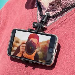 Le tour de cou Point-of-you de chez Olixar est universel, vous pourrez donc l'utiliser avec n'importe quel smartphone et garder vos mains libres. Ce sera l'accessoire idéal pour prendre en vidéo tout ce que vous faites pour ensuite le partager. Il est léger, robuste et confortable : partez à l'aventure avec !