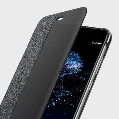 Original Huawei P10 Lite Tasche mit integriertem Sichtfeld auf den Huawei P10 Lite Display. Diese Tasche bietet Schutz und unterstützt die Funktionalität des Smartphones.
