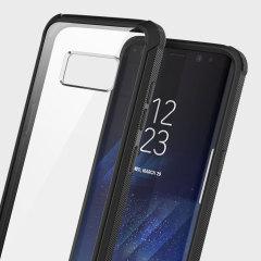 Obliq Naked Shield Samsung Galaxy S8 Plus Case - Zwart