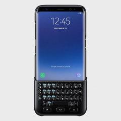Expérimentez une frappe rapide et efficace à l'aide de cette coque clavier Samsung Galaxy S8 Officielle de type QWERTZ de coloris noir. A la fois mince et incroyablement protectrice, elle sera un excellent moyen de rédiger agréablement vos messages ou vos recherches sur Internet. Cette coque clavier s'utilise en toute simplicité en la connectant à votre Samsung Galaxy S8. En effet, elle ne nécessite aucune connectivité Bluetooth et ne se recharge pas, un simple branchement suffit.