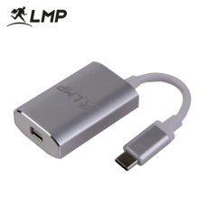 The LMP USB-C to Mini DisplayPort adapter gives your old Mini DisplayPort cables a new lease of life. Convert a USB-C port on your MacBook or USB-C laptop into a Mini DisplayPort - perfect for displays up to 4K @60Hz.