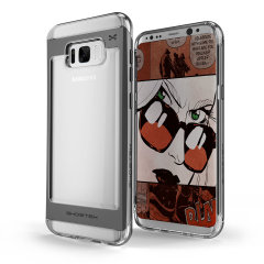 Ghostek Cloak 2 Samsung Galaxy S8 Plus Aluminium Case - Clear / Black