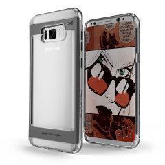 Ghostek Cloak Samsung Galaxy S8 Plus Tough Case Hülle in Klar / Schwarz
