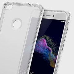 Experience superior protection for your Huawei P8 Lite 2017 with the 100% clear Spectrum case from ITSKINS. Drop test certified over 6ft, this case will show off the unique design of your device and provide shock and drop resistance.