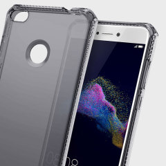 Experience superior protection for your Huawei P8 Lite 2017 with the smoke black Spectrum case from ITSKINS. Drop test certified over 6ft, this case will show off the unique design of your device and provide shock and drop resistance.