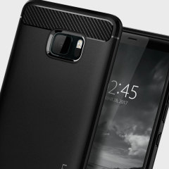 Spigen Rugged Armor HTC U Ultra Hülle in Schwarz