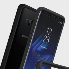 Shield your Samsung Galaxy S8 from drops, scratches, scrapes and other damage with the CrashGuard bumper case from RhinoShield. This case offers superb protection while adding virtually no extra bulk thanks to a shock-dispersing hexagonal structure.