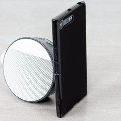 Custom moulded for the Sony Xperia XZ Premium, this solid black Olixar FlexiShield case provides slim fitting and durable protection against damage.