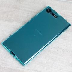 Olixar FlexiShield Sony Xperia XZ Premium Gel Hülle in Blau