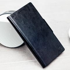 Beskytt din Xperia XZ Premium samtidig som du holder dine kort og penger sikre med lommeboks dekslet Olixar i lærstilformat.