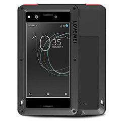 Love Mei Powerful Sony Xperia XZ Premium Protective Case - Black