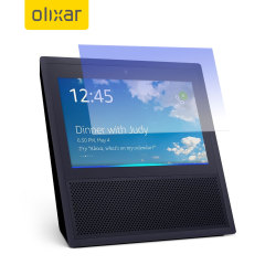 This ultra-thin tempered glass screen protector for the Amazon Echo Show from Olixar offers toughness, high visibility and sensitivity all in one package. Perfect for interaction without the risk of damaging your screen.