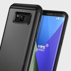 VRS Design Thor Series Samsung Galaxy S8 Plus Case - Dark Silver