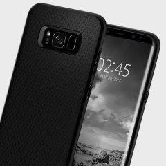 Spigen Liquid Air Samsung Galaxy S8 Plus Hülle - Schwarz