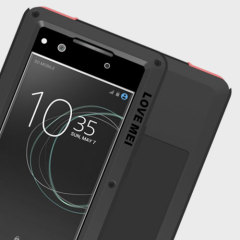 Protect your Sony Xperia XA1 with one of the toughest and most protective cases on the market, ideal for helping to prevent possible damage from water and dust - this is the black Love Mei Powerful Protective Case.
