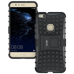 Protect your Huawei P10 Lite from bumps and scrapes with this black ArmourDillo case. Comprised of an inner TPU case and an outer impact-resistant exoskeleton, the ArmourDillo provides robust protection and supreme styling.