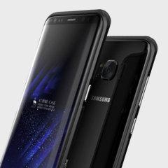 Luphie Blade Sword Galaxy S8 Plus Aluminium Stoßdämpfer Hülle - Schwarz