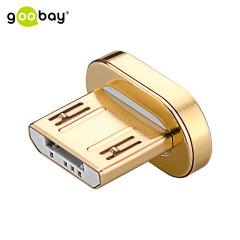 Cet embout Micro USB de remplacement ira parfaitement avec votre câble magnétique Goobay.