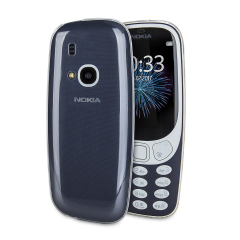 Custom moulded for the Nokia 3310 (2017), this clear Olixar Ultra-Thin case provides slim fitting and durable protection against damage.