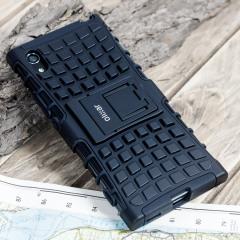 Olixar ArmourDillo Sony Xperia XA1 Protective Deksel - Svart