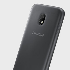 Slim-fitting and adding virtually no extra bulk, this official Samsung black jelly case for the Galaxy J3 2017 offers protection without sacrificing form.