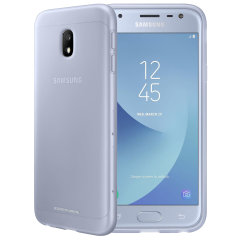 Slim-fitting and adding virtually no extra bulk, this official Samsung blue jelly case for the Galaxy J3 2017 offers protection without sacrificing form.