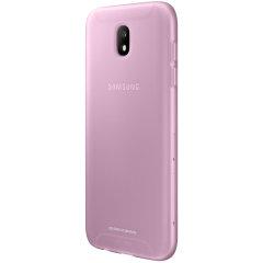 Deze officiële Samsung Jelly Cover voor de Galaxy J5 2017 is dun van pasvorm en voegt praktisch geen extra bulk toe, zonder bescherming tegen vorm.