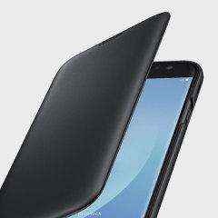 Protégez la partie arrière, les cotés ainsi que l'écran de votre Samsung Galaxy J7 2017 de tout dégât tout en conservant votre carte de crédit dedans avec cette Wallet Cover officielle Samsung.