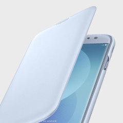 Protege tu Samsung Galaxy J7 2017 por la espalda, los costados y la pantalla de los daños, mientras tiene sus tarjetas más importantes cerca gracias a las ranuras de su tapa de Samsung.