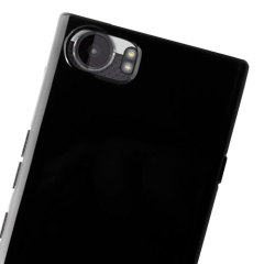 Custom moulded for the BlackBerry KeyONE, this clear Olixar Ultra Thin case in solid black provides slim fitting and durable protection against damage.