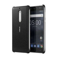 This slim, sleek official hard case for the Nokia 5 sports a smooth, tactile carbon fibre-effect design while also offering superior protection from drops, knocks and scrapes.