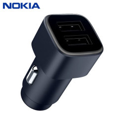 A genuine Nokia car charger for your Nokia smartphone (or any smartphone which charges via USB). Incredibly stylish and fast, this charger is a must have, thanks to its sleek design and super fast charging rates.