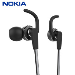 Enjoy your music with this official pair of Nokia Active in-ear stereo headphones. With a built-in remote, this headset is ideal for use with smartphones or tablets and great for controlling your music and calls on the go.