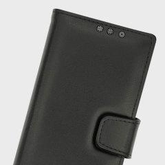 Schütze dein BlackBerry KeyONE mit der hochwertigen Ledertasche von Noreve aus echtem Leder.