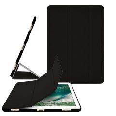 Conçue à partir d'un matériau polyuréthane de qualité supérieure, la coque Macally BookStand en coloris noir offre un ajustement parfait à votre iPad Pro 12.9 2017. Ultra-mince et parfaitement adaptée à votre tablette, elle est également compatible avec la fonction veille / éveil.