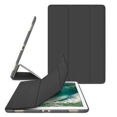 Fabricado con un poliuretano de primera calidad, la funda Macally elegante proporciona un ajuste perfecto cada vez que destaca el elegante diseño de su iPad Pro 12.9 2017. Con un ajuste ultra-delgado que es totalmente compatible con la función de sueño / vigilia del Pro.