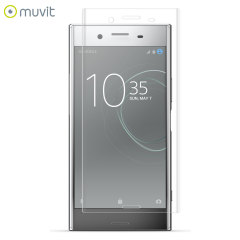 Muvit Sony Xperia XZ Premium Curved Tempered Glass Screen Protector