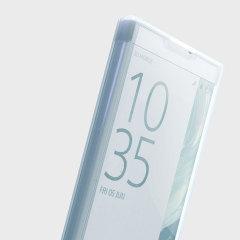 Muvit MFX Sony Xperia XZ Premium Touch Flip Folio Case - Clear