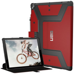 UAG Metropolis Rugged iPad 12.9 2017 Wallet case Tasche in Magma Rot