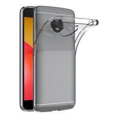 Esta funda de gel transparente oficial de Motorola cuenta con un diseño de forma super ajustada que no agrega virtualmente ningún volumen adicional a su Moto E4.