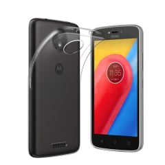 This official transparent gel case from Motorola boasts a super slim form-fitting design which adds virtually no additional bulk to your Moto C.