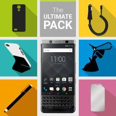 Le Pack d'accessoires Ultime pour BlackBerry KEYone contient tout un lot d'accessoires indispensables spécialement conçus pour BlackBerry KEYone.